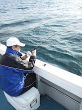 Photo: 「釣り」が初めて!の方が3名様! 楽しんでくださいね!