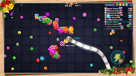 Snake Candy.IO – Multiplayer Snake Slither Game 6
