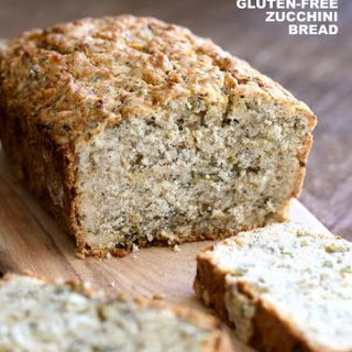 Vegan Gluten free Zucchini Bread.