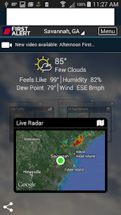 WTOC First Alert Radar screenshot for Android