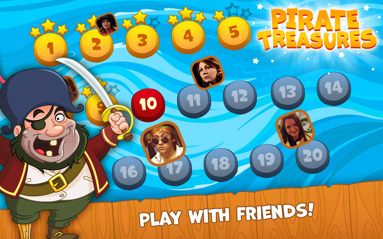 Pirate Treasures- screenshot