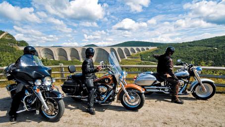 Voyage moto au Quebec