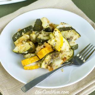 Crock Pot Zucchini and Yellow Squash Casserole