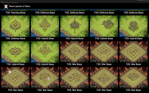 Defense Maps for COC
