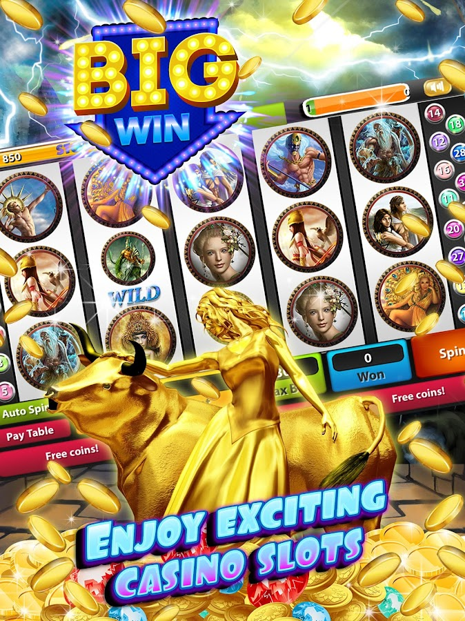 zeus slot machine free