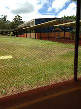 Photo: Orange plastic fencing surrounds the area by F-building. No shortcuts for awhile!