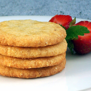 Vanilla Toffee Butter Cookies (Egg-Free)