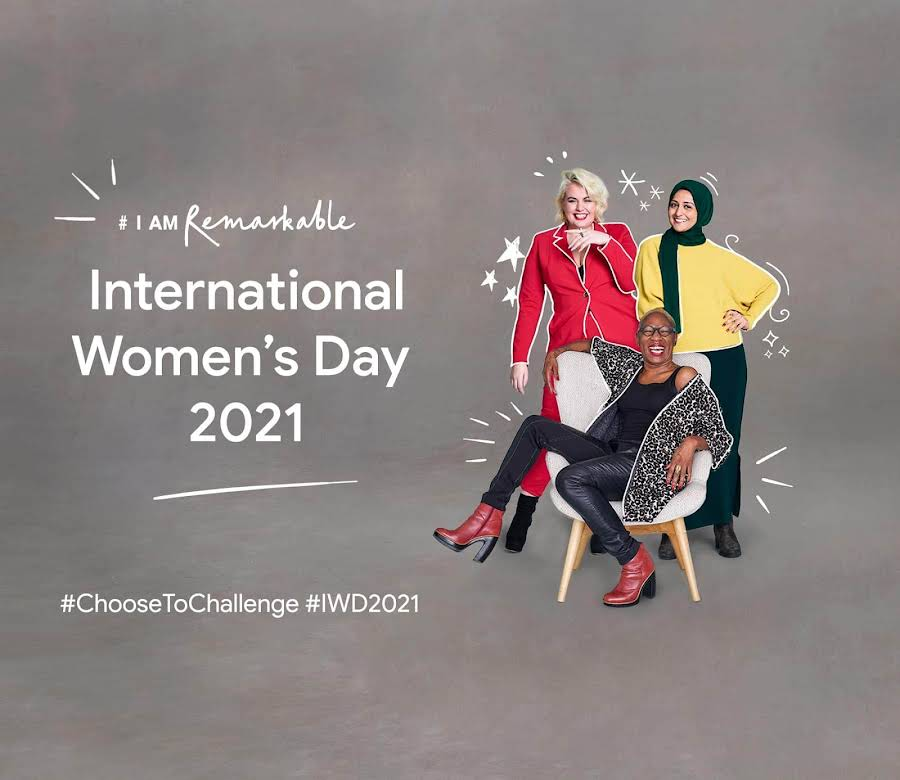 International Women's Day 2021 #ChooseToChallenge #IWD201