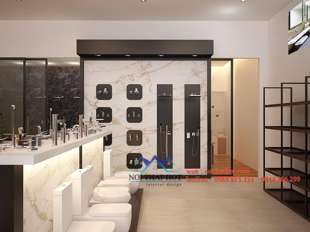 thiết kế cửa hàng thiết bị vệ sinh Phúc An 7