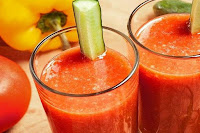 Tomato Capsicum Carrot Smoothie
