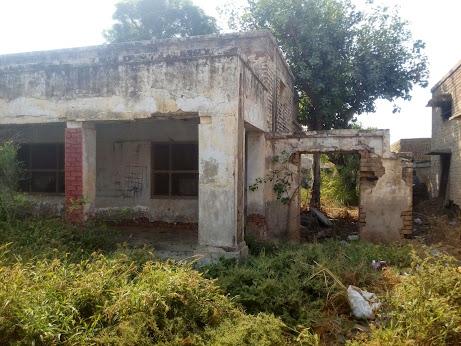 Dispensary in Ruins