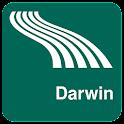 Darwin Map offline icon
