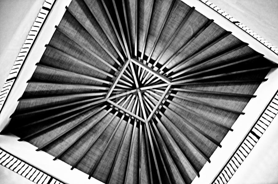 by Tupu Kuismin - Black & White Abstract