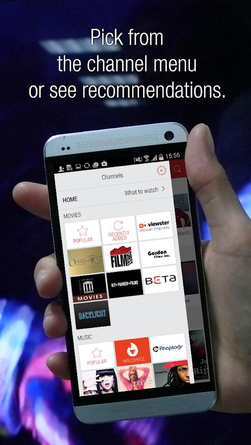Flipps HD - Movies, Music & TV - screenshot