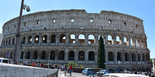 colosseum-rome-afternoon.jpg - The world-famous Colosseum in Rome seen during an afternoon excursion.