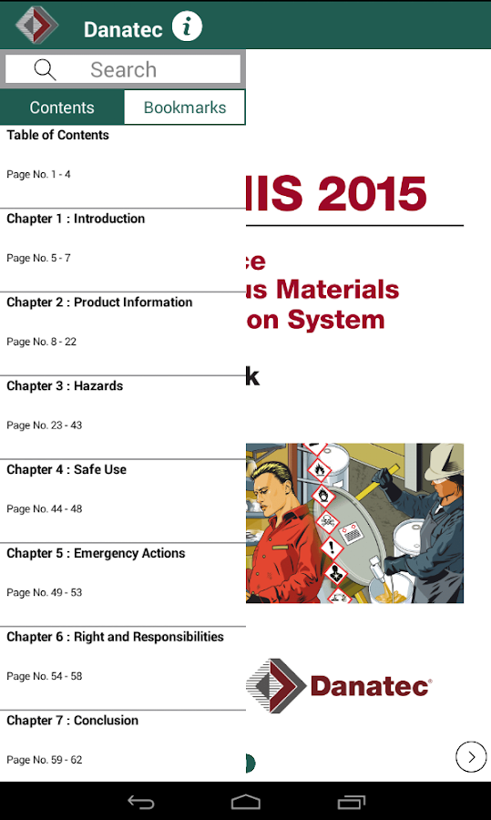 WHMIS 2015 Handbook- screenshot