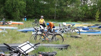 Photo: Паркинг для байдарок и велов