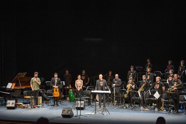 Clasijazz Big Band estuvo dirigida por Bernand Van Rossum.