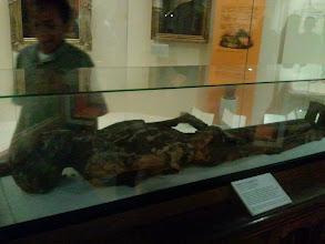 Photo: the mummy
