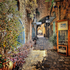 yaffo by Abu  Janjalani Abdullah - City,  Street & Park  Street Scenes ( roads, transportation )