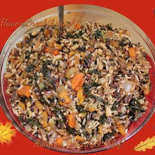 Autumn Wild Rice Pilaf!
