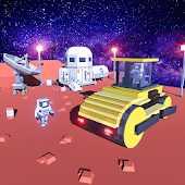 Space Construction City: House Builder Game