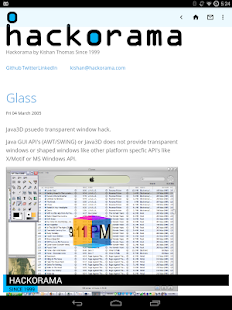 Hackorama- screenshot thumbnail