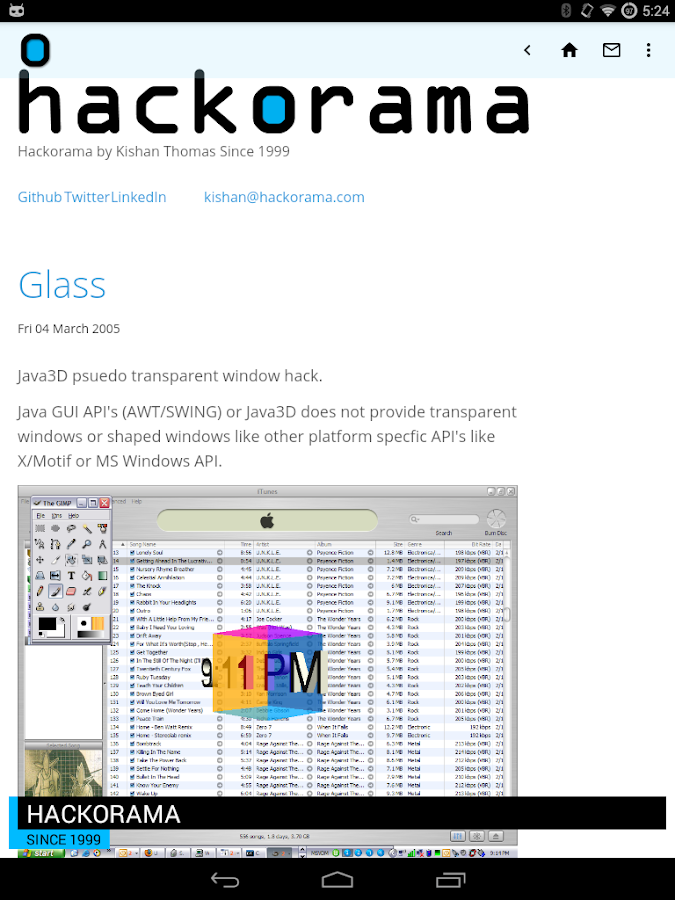 Hackorama- screenshot