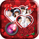 Romantic Love Photo Collage v 1.0 app icon