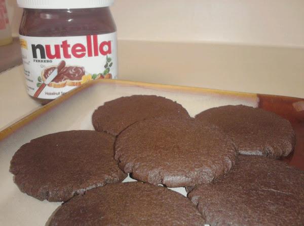 Chocolate Nutella Cookies Recipe