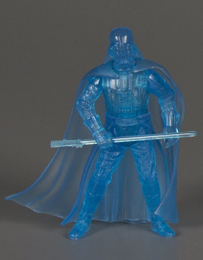 Action figure:Star Wars The Anniversary Collection: Darth Vader Hologram