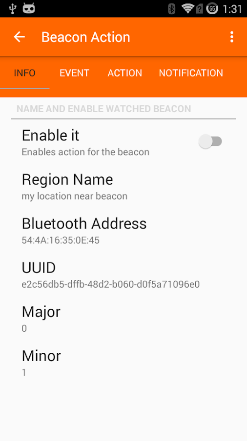 Beacon Locator- screenshot