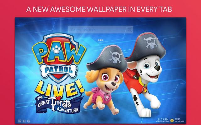Paw Patrol Wallpaper Hd Custom New Tab