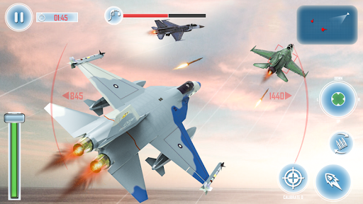 Jet Fighter Air Strike: Flight Simulator War Games App
