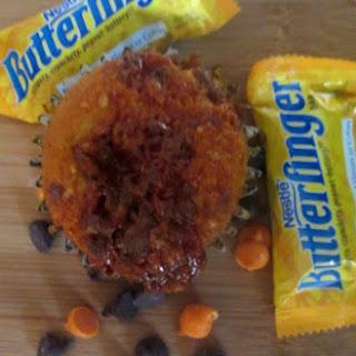 Crushed Candy Cupcake