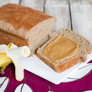 Whole Grain Yeasted Banana Bread