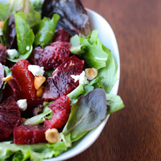 Blood Orange, Beet & Hazelnut Winter Salad.