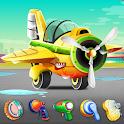 Kids Plane Wash And Workshop Garage icon