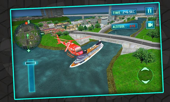 Helicopter Flight Simulator - screenshot