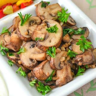 Parsley and Garlic Mushrooms.