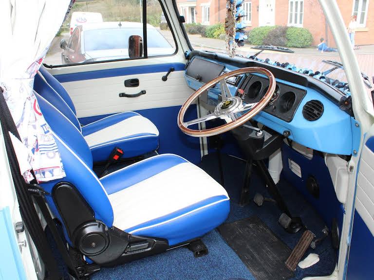 Volkswagen T2 Camper Hire Leicester
