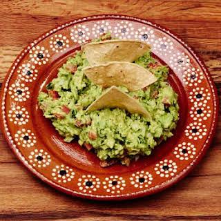 Authentic Mexican Guacamole.