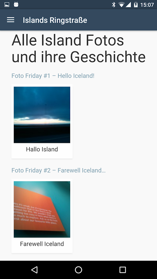 Iceland Ringroad App: Guide, Map & Tours- screenshot