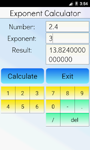 Exponent Calculator screenshot 3