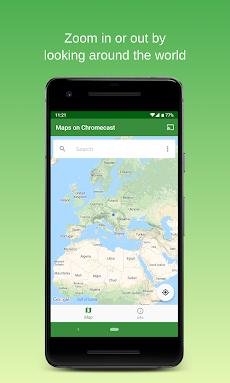 Maps on Chromecast    Map app for your TVのおすすめ画像4