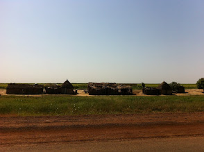 Photo: A small village by the road