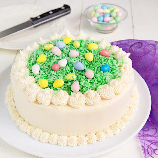 My Coconut Easter Cake