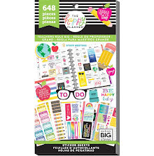 Me & My Big Ideas Happy Planner Sticker Value Pack - BIG Teachers Rule