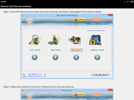 Memory Card Recovery Software 3.2 screenshots 10