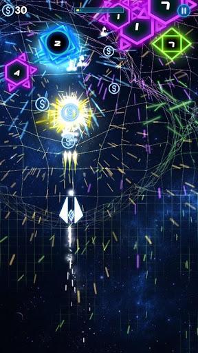Neon War - Geometry Shooter  captures d'écran 1